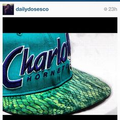 Nice color combo with the green snakeskin Strapback hat right here @christianallen_-#statigram