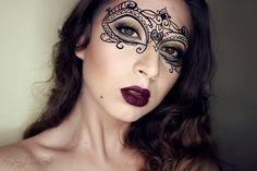 Inspired make-up - Venetian mask