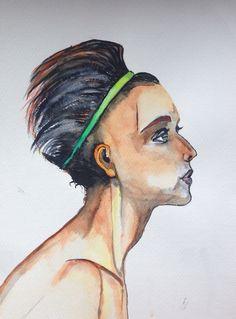 copied facial profile
