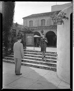 Pasadena Playhouse (exterior), Pasadena, 1942