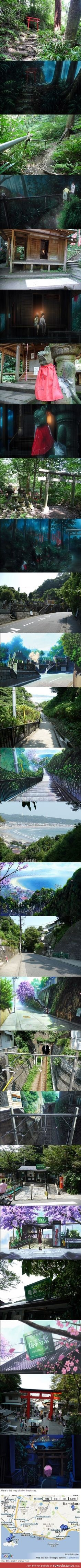 Elfen lied pilgrimage I NEED TO VISIT THIS PLACE