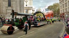 Lord Mayor's show. Steam Engine London 2014