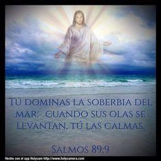 Tú dominas la soberbia del mar; Cuando sus olas se levantan, tú las calmas. Salmos 89:9 #holycam