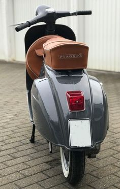 """The Vespa is a line of scooters patented on April 1946 by the company Piaggio Co, S. The name Vespa, which means """"wasp"""" in Italian, was chosen by Enrico Piaggio. Piaggio Vespa, Scooter Bike, Lambretta Scooter, Vespa Scooters, Motor Scooters, Vespa 150, New Vespa, Vintage Vespa, Triumph Motorcycles"""