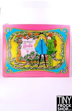 Barbie Vintage The World of Barbie Doll Double Carrying Case Pink -1968