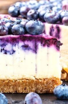 Low FODMAP Recipe and Gluten Free Recipe - Baked banana & blueberry cheesecake   ----   http://www.ibs-health.com/low_fodmap_recipe_baked_blueberry_cheesecake.html