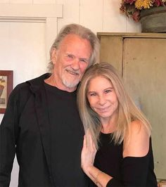 She won an Oscar for Best Original Song for Evergreen in A Star Is Born. And Barbra Streisand is still close with her co-star as she shared a snap hugging Kris Kristofferson. Old Singers, Country Music Singers, Janet Gaynor, Kris Kristofferson, Film Releases, Barbra Streisand, Robert Redford, Latest Albums, A Star Is Born