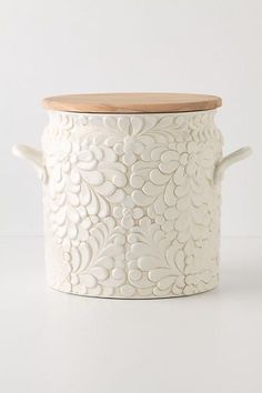 Anthropologie Verdant Bread Bin