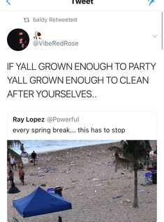 It's like this after festivals too. Fucking disgusting. If you can't clean up after your nasty ass like a grown up, don't go to these events.