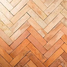 Malina Terracotta by Gather Co. Parquet Tiles, Terrazzo, Terracotta Floor, Old School House, Brick In The Wall, Tile Suppliers, Spanish House, Floor Patterns, Beautiful Homes