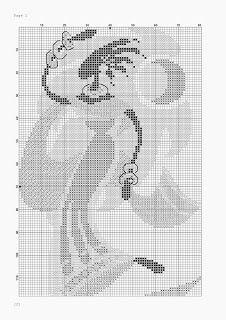Punto De Cruz - Mas de 5,000 Gráficos: CUADRO DE AFRICANA Cross Stitch Designs, Cross Stitch Patterns, African Artwork, African Dance, Butterfly Cross Stitch, Love Bugs, Sewing Crafts, Needlework, Embroidery Designs