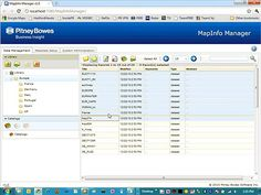Getting Started with MapInfo Manager