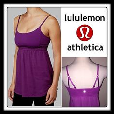 Lululemon Bliss Magenta Pink Yoga Tank Top! Lululemon Bliss Magenta Pink Yoga Tank Top! Features: Loose, moderate support, flowing tank, Tencel® is derived from wood pulp and is soft, light and breathable, Power luxtreme™ top is light weight with high LYCRA® fibre, drawstring bottom, Adjustable straps & Mesh inner support for cups (not included). Sz 8. No damage, rips or tears. VG condition. Offers welcomed! lululemon athletica Tops Tank Tops