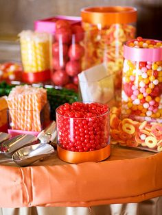I swear, if the only two things I have at my reception are an open bar and a candy bar-- I'd still be soo happy.