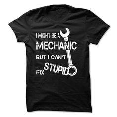 Mechanic T-Shirts, Hoodies. CHECK PRICE ==► Funny Tee Shirts