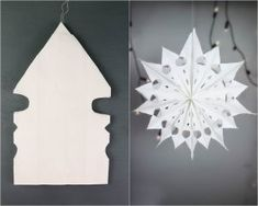 DIY Weihnachten, DIY Winter, Dekoration, Sterne aus Brottüten, Sterne aus Papiertüten, DIY Wohnen, Brottüten upcyclen, DIY Papier, Vara-Kreativa Christmas Tree Ornaments, Christmas Crafts, Christmas Decorations, Christmas And New Year, Christmas Time, Kirigami, Diy Paper, Paper Crafts, Easy Crafts