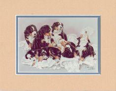 Bernese-Mountain-Dog-Miniprint-by-Darlene-Wilson-Double-Mounted