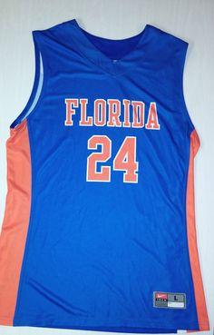 Nike Mens Florida Gators Basketball Large Jersey #24 NCAA #Nike #FloridaGators