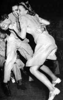 jitterbug. I loved this dance craze. Danced all day and night. In school, out of school and at home.  B.