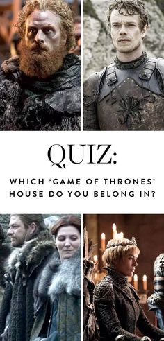 Which 'Game of Thrones' House Do You Belong In? #purewow #tv #books #news #entertainment