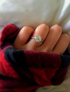 Keeping it simple and classic with this stunning solitaire engagement ring!