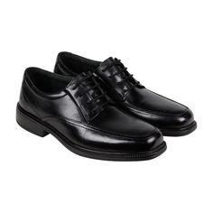 b232bd4c4 MEN S BOSTONIAN IPSWICH BLACK LEATHER CASUAL DRESS LACE UP OXFORDS SHOES  Sz. 7.5  fashion