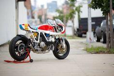 Ducati x Puma Cafe Racer by Walt Siegl