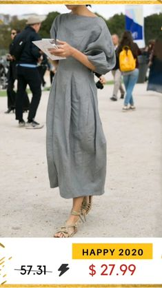 Trendy Casual Dress for Women. See more ideas about Casual outfits, Outfits and Casual.Cute summer outfits for ladies, simple summer outfits. Elegant Midi Dresses, Linen Dresses, Dresses Dresses, Evening Dresses, Fashion Dresses, Linen Summer Dresses, Casual Maxi Dresses, Linen Tunic Dress, Casual Outfits