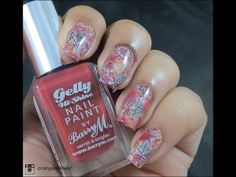 Fall/Autumn Nail Art feat Bokeh Base - YouTube by Crazypolishes  https://www.youtube.com/watch?v=xAhllfOuWAY