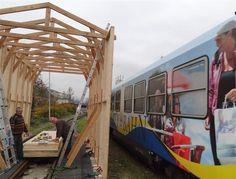 Der Bungalow für die Ybbstalbahnlokomotive Y.v.2 ist fertig!