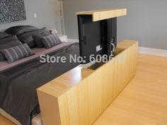 Best Azura 360 Degree Swivel In White Finish Tv Lift Cabinet In 640 x 480
