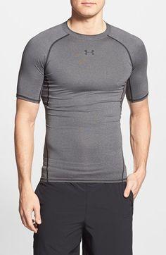 Men s Under Armour HeatGear Compression T-Shirt Esportes 3b47d1c2f9969