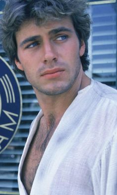 Jon-Erik Hexum. Sad how he died and so young. Watched his shows Voyagers and Cover Up in 1982-83 and 1984. He was awesome.