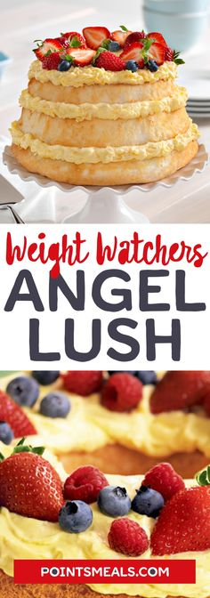 #weight_watchers Angel Lush #cake #pineapple