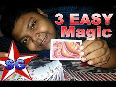 3 EASY Magic Tricks - How To Magic!(हिन्दी)