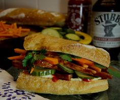 "Chef Dean's ""BBQ Bahn Mi Pork Belly Sandwiches!"" - Special at U Kurelu"