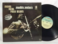 Muddy Waters More Real Folk Blues LP Vinyl Record Chess Records