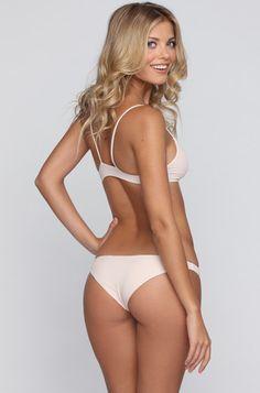 Basics Na Pali Bra/Bikini Top in Polka Dot