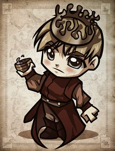 how to draw chibi joffrey from game of thrones