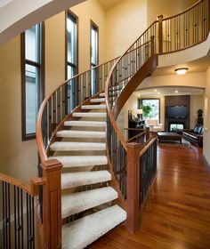 West Hillhurst Executive traditional staircase calgary