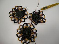 ♘♖Fuxico em Crochê - / ♘♖ Fuxico Crochet - 1