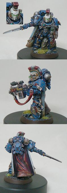 Ultramarine  Master of the chapter