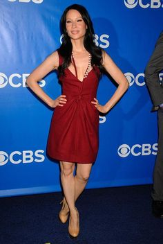 Lucy Liu at the 2013 CBS Upfront Party. (16/05/2012)