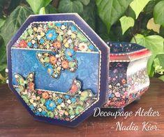 Decoupage, Decorative Boxes, Home Decor, Art, Atelier, Art Background, Decoration Home, Room Decor, Kunst