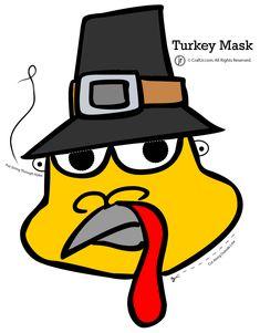 Thanksgiving Turkey Mask