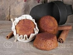 primitive dough ornament/decoration recipe.  Like the idea of dipping these in wax.