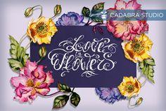 #cadabra #cadabrastudio #cadabra_art La vie en fleurs on Behance
