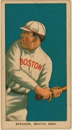 [Tris Speaker, Boston Red Sox, baseball card portrait]