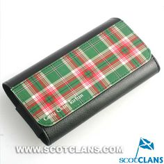 Grey Tartan Spectacle Case