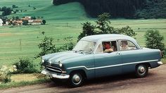 Ford Taunus 12M - the 'globe' car, so called because of the half globe that was used above the grille as an ornament.